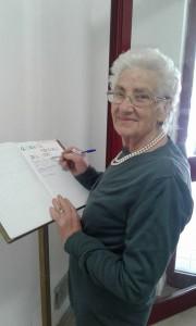 firma del libro degli ospiti